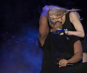 Drake y Madonna responden por su beso en Coachella