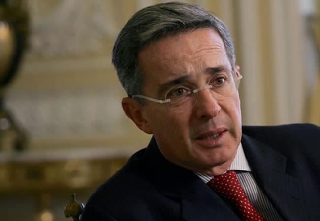 El expresidente y senador, Álvaro Uribe. Foto: EFE