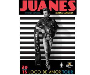 Juanes agrega presentaciones al 'Loco de Amor Tour'