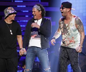 Carlos Vives, Wisin y Daddy Yankee cantaron 'Nota de Amor'