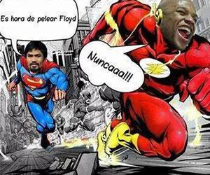 Mayweather vs. Pacquiao en memes