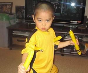 Conoce a Ryusei, el imitador de Bruce Lee
