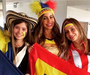 Sofía Vergara celebró su estrella en Hollywood con parranda vallenata