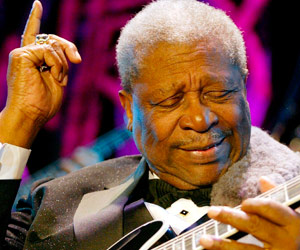 Muere a los 89 años B.B. King, 'el rey del blues'
