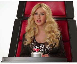 Youtube: Christina Aguilera imita a Shakira