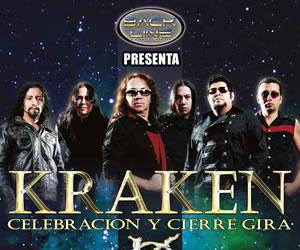 Policía terminó concierto de Kraken