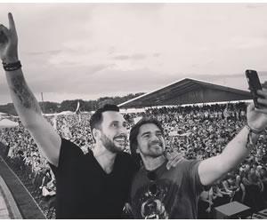 Juanes y Cedric Gervais graban canción