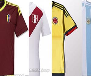 Así serán los uniformes de las selecciones en la Copa América