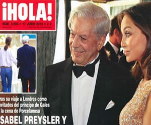Mario Vargas Llosa tendría romance con madre de Enrique Iglesias