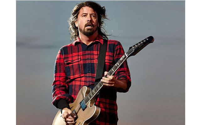 Dave Grohl. Foto: EFE
