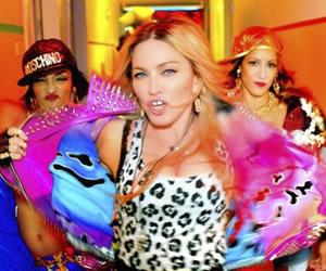 Madonna, Beyoncé, Miley Cyrus y Katy Perry en 'Bitch, I'm Madonna'