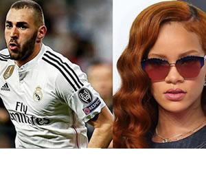Rihanna y Karim Benzemá, la pareja del momento