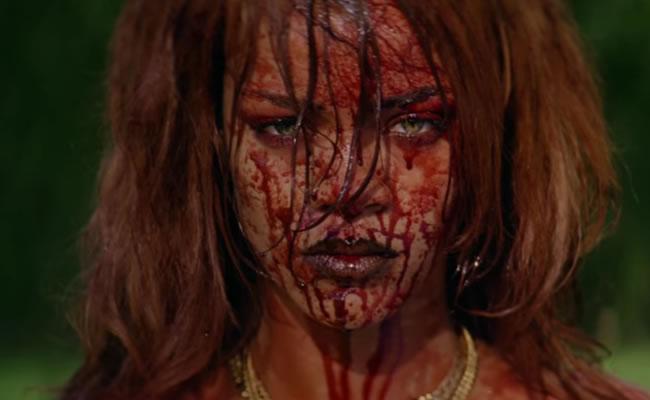 Desnudos, drogas y violencia en el nuevo video de Rihanna