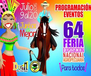 Programación de la Feria de Buga 2015