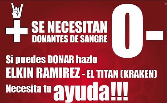La donación se realiza en la Clínica El Rosario de Medellín de Villa Hermosa. Foto: Facebook