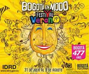 Programación completa del Festival de Verano de Bogotá 2015