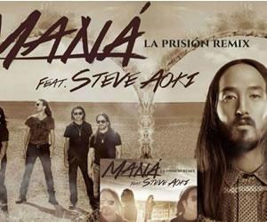 Steve Aoki hará remix con Maná