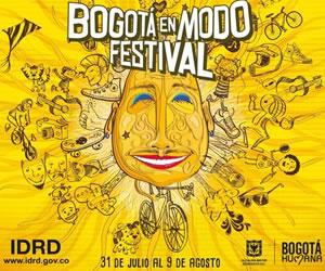 Bogotá de cumpleaños con el Festival de Verano 2015