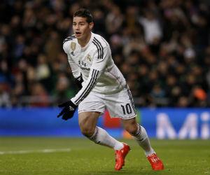 James Rodríguez volvió al gol con el Real Madrid