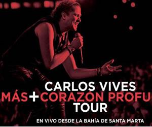 Carlos Vives estrena nuevo disco en vivo este 7 de agosto