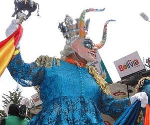 Carnaval de Oruro, presente en el cumpleaños de Bogotá