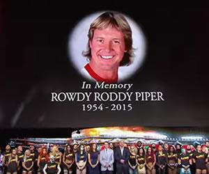 Youtube: El homenaje a 'Rowdy' Roddy Pipper