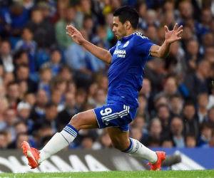 Falcao y Cuadrado titulares en la derrota del Chelsea
