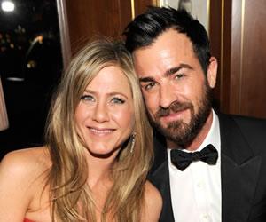 Jennifer Aniston contrajo matrimonio con Justin Theroux