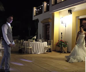 En youtube una ingeniosa manera de celebrar un matrimonio