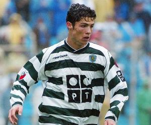 Cristiano Ronaldo debutó hace 13 años en el Sporting