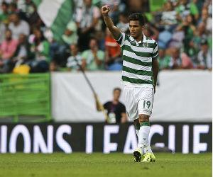 Teófilo Gutiérrez aportó un gol en el triunfo del Sporting