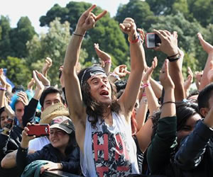 Humo, 'pogo' y mucho rock se vivió en Rock al Parque 2015