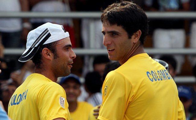 Juan Sebastián Cabal y Robert Frah ahora piensan en la Copa Davis. Foto: EFE