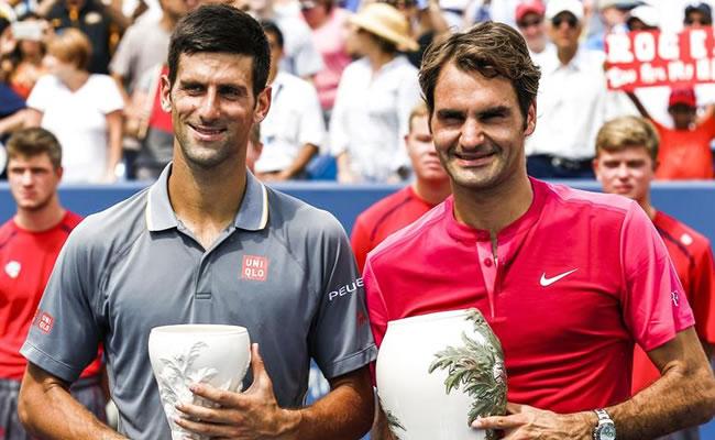 Federer supera a Djokovic y es el rey Cincinnati. Foto: EFE