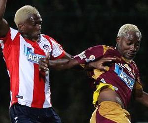 Las fotos de Tolima y Junior en la Sudamericana