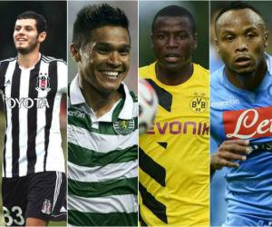 Los colombianos que disputarán la Europa League
