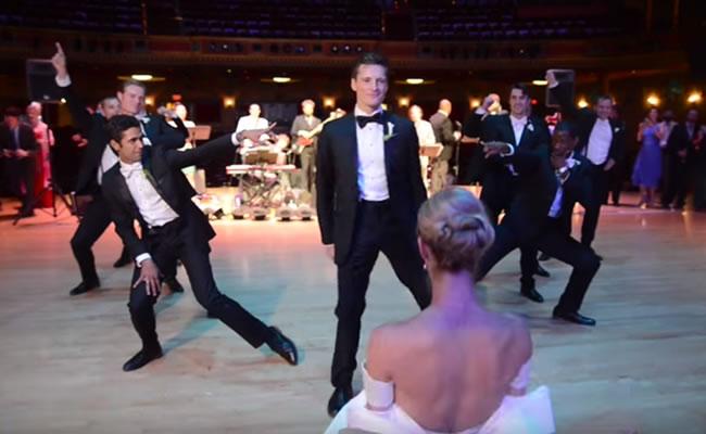 Youtube: La increíble coreografía sorpresa para su esposa