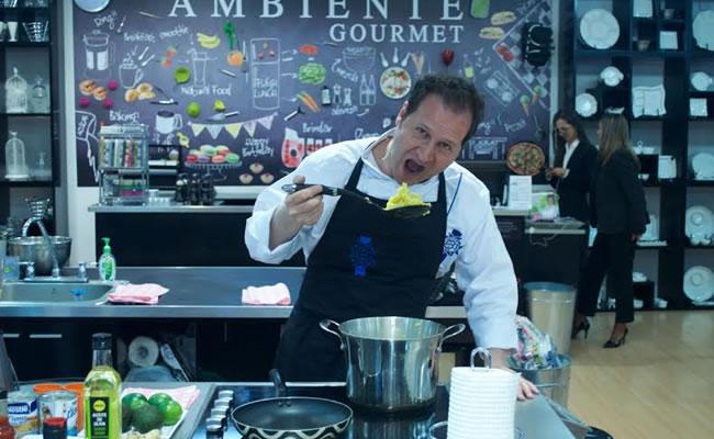 El chef Mauricio Nicholls llega para enseñarnos sobre la cocina