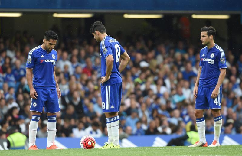 Falcao García hizo el único gol del Chelsea, pero su equipo perdió 1-2. Foto: EFE