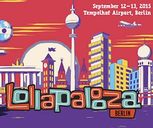 Festival Lollapalooza celebra su primera edición europea en Berlín