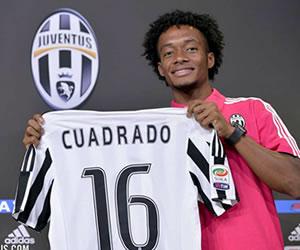 Cuadrado hace feliz a la Juventus