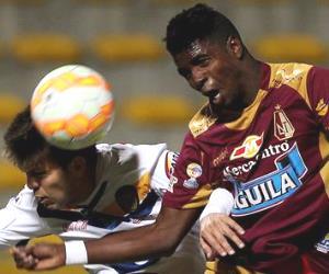 La paridad entre Tolima y Sportivo Luqueño en imágenes