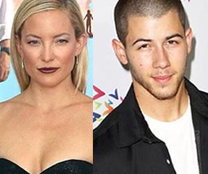 Kate Hudson y Nick Jonas estarían saliendo