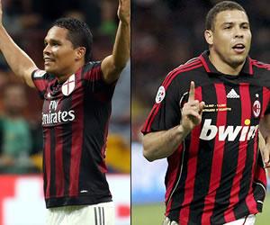 Carlos Bacca y su admiración por el 'fenómeno' Ronaldo