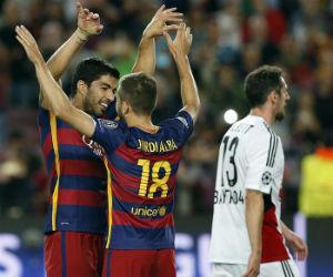 El Barcelona remontó ante un complicado Bayer Leverkusen