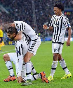 Juan Guillermo Cuadrado fue figura en el triunfo de la Juventus