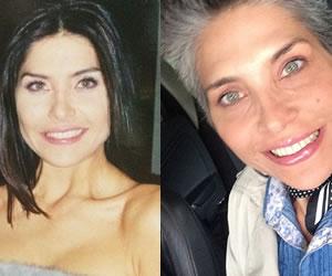 Lorena Meritano a lo largo de sus 45 años