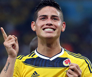 El Real Madrid no esperaba la convocatoria de James a Colombia