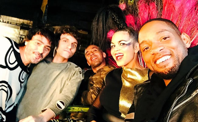Will Smith y Bomba Estéreo estrenan remix de 'Fiesta'