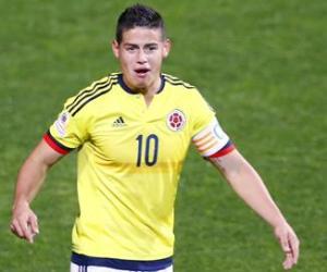 James Rodríguez no jugará con la Selección Colombia
